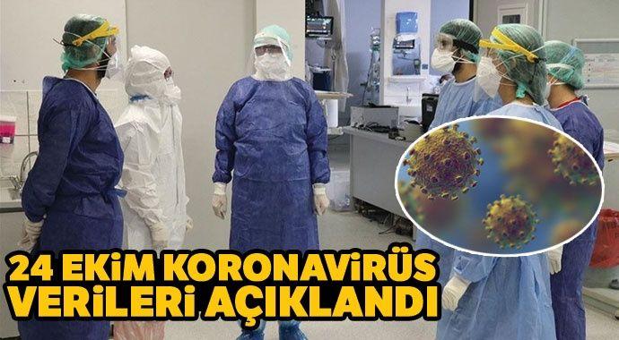 Günlük koronavirüs verileri açıklandı