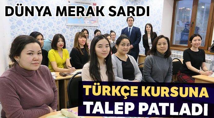Türkçe kurslarına talep patlaması