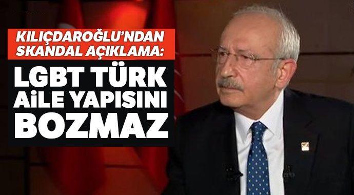 Kılıçdaroğlu'ndan skandal açıklama: LGBT Türk aile yapısını bozmaz - tg mobile