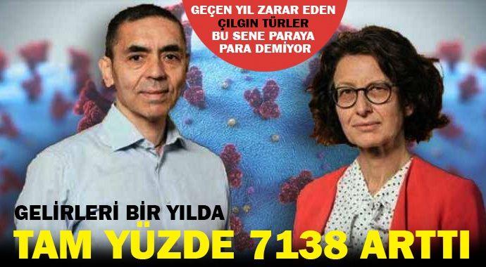 Çılgın Türkler'e aşı piyangosu: BioNTech'in geliri bir yılda yüzde 7138 arttı