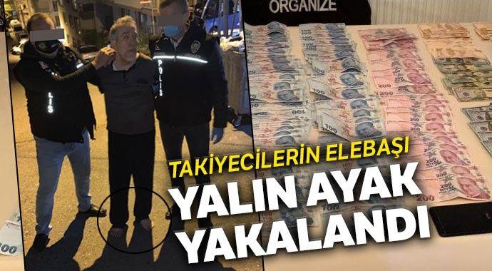 Hücre evlerine para dağıtan FETÖ'cü yalın ayak kaçarken yakalandı