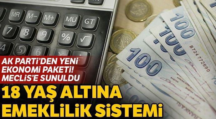 Son dakika! AK Parti'den yeni ekonomi paketi