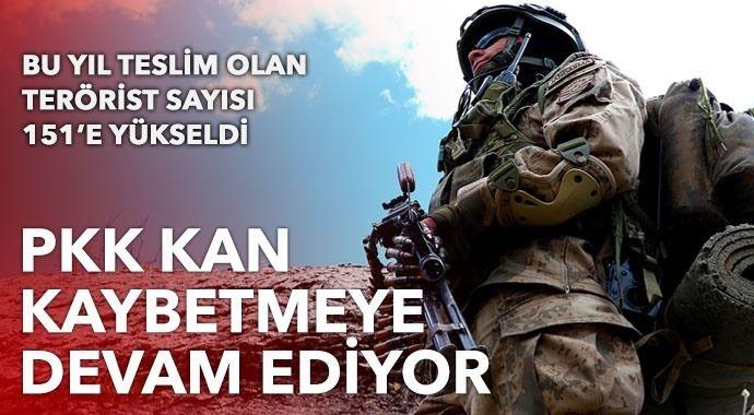 PKK kan kaybetmeye devam ediyor