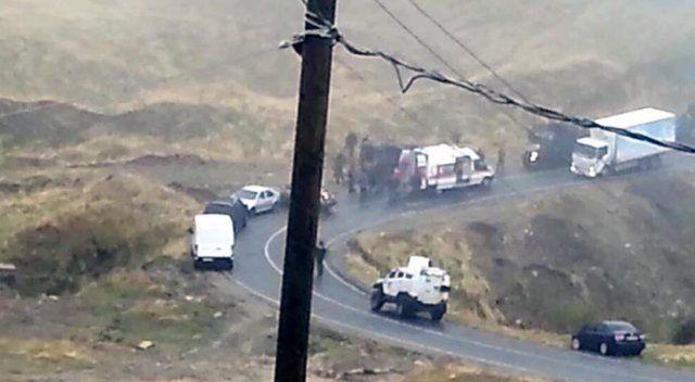 Şırnak'ta askeri araç sivil araçla çarpıştı, 7 yaralı var