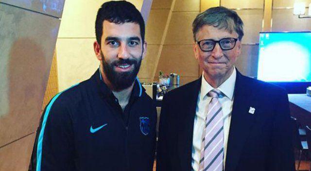 Arda'nın yeni arkadaşı Bill Gates