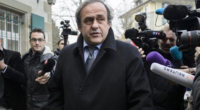 Michel Platini'nin itirazı reddedildi!