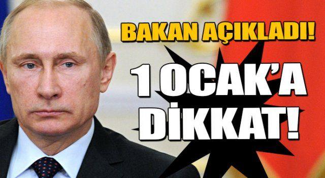 Rusya krizi 1 Ocak'ta bitiyor mu?