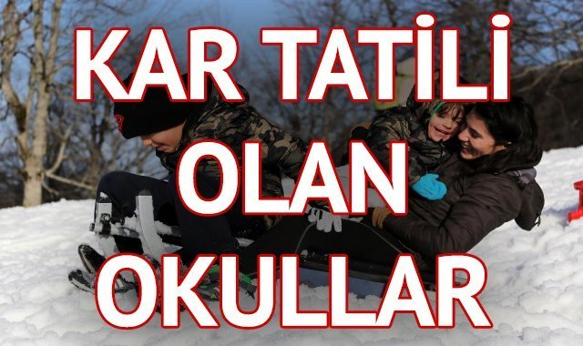 Ankarada yarin okullar tatil mi
