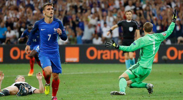Almanya 0-2 Fransa