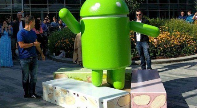 Android Namık kaybetti Android Nougat kazandı