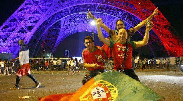 Portekizliler şampiyonluğu böyle kutladı