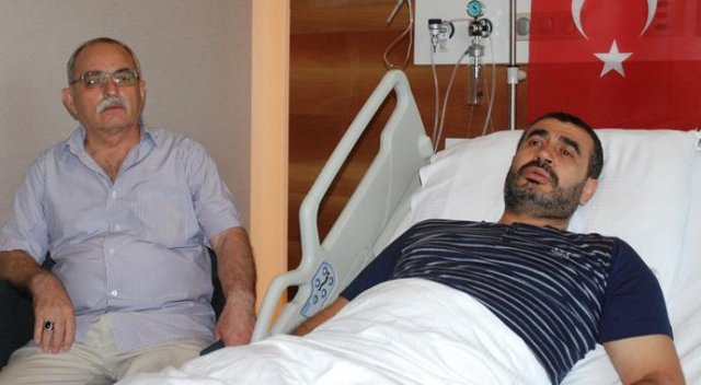 15 Temmuz gecesi İBB binası önünde yaralanan Erol Bulut yaşadıklarını anlattı