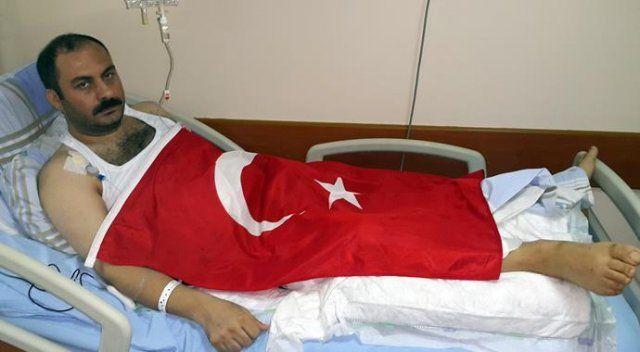 Borsa İstanbul'da ilk vurulan gazi 15 Temmuz gecesini anlattı