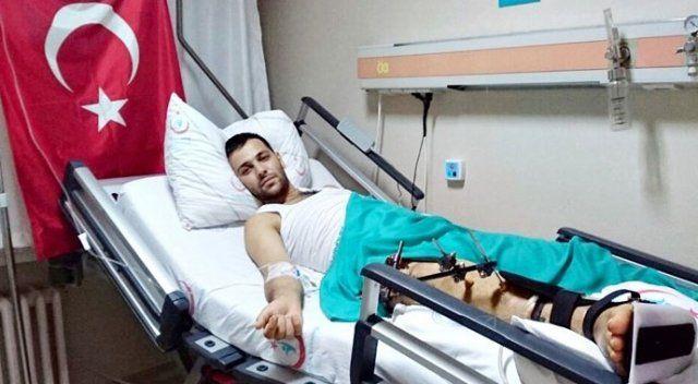 Darbe girişiminde yaralanan genç: 'Bacaksız yaşanır ama vatansız yaşanmaz'