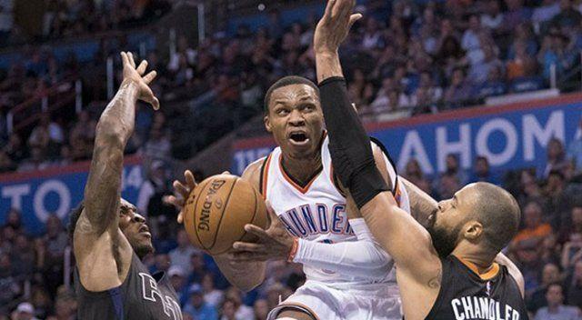 Russell Westbrook NBA tarihine geçti!