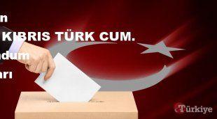 KUZEY KIBRIS TÜRK CUM. 16 Nisan Referandum sonuçları | KUZEY KIBRIS TÜRK CUM. referandumda Evet mi Hayır mı dedi?