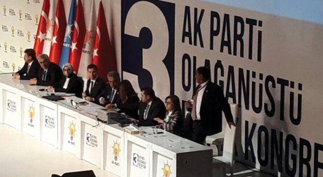AK Parti Kongresi'nde Gaziantep damgası