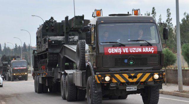 Afrin'e kara harekâtı hazırlığı