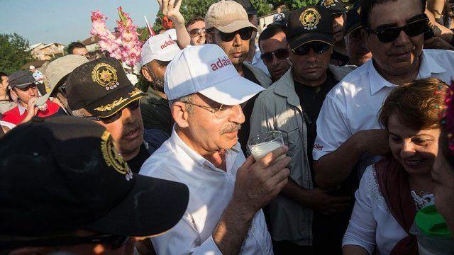 Kılıçdaroğlu, yürüyüşünün bugünkü bölümünü tamamladı