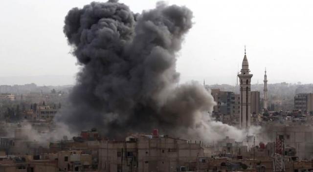 Suriye'de misket bombalı katliam: En az 50 ölü