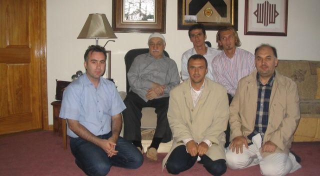 3 eski futbolcu Fethullah Gülen ile aynı karede