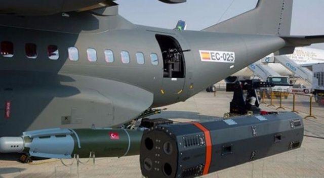Airbus, ROKETSAN silahlarını sergiledi