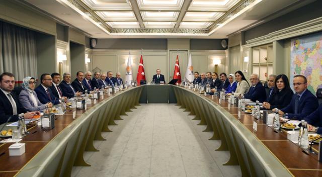 AK Parti Merkez Yürütme Kurulu sona erdi