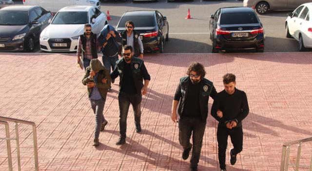 Bodrum'da torbacılar tutuklandı