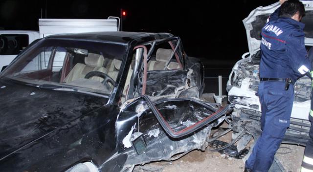 Düğün dönüşü kaza: 9 yaralı