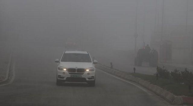 Edirne'yi sis kapladı