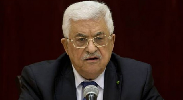 Filistin Devlet Başkanı Abbas Kuveyt'te görüşmelerde bulundu