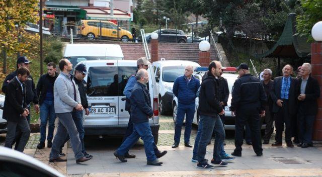 Giresun'da 'ByLock' operasyonu, 10 kişi adliyeye sevk edildi