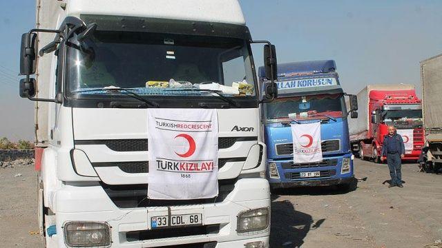 Türk Kızılayınca, Irak-İran sınırındaki deprem bölgesine yardımlar sürüyor