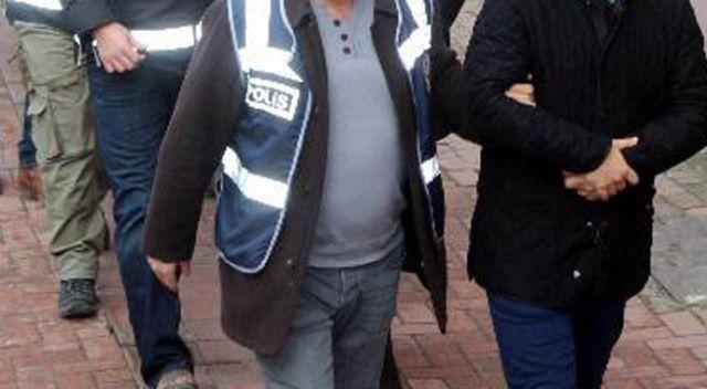 Antalya'da 10 polis gözaltına alındı