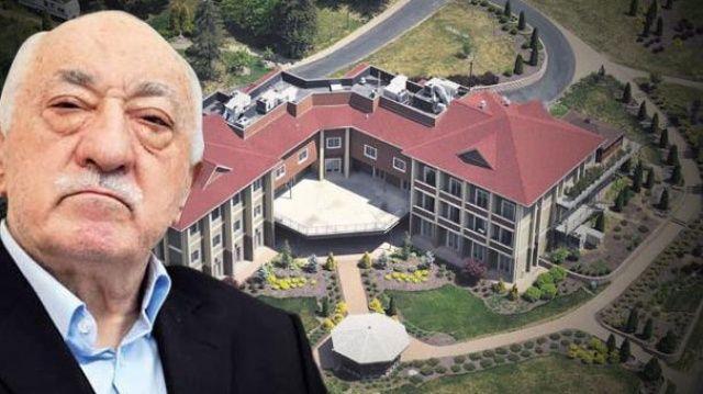 FETÖ lideri Gülen'in Pensilvanya'daki ini böyle görüntülendi