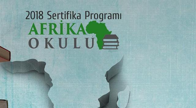 'Afrika Okulu' programı başlıyor