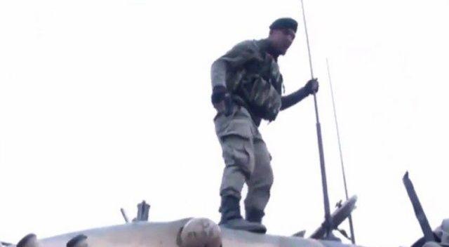 Afrin'de operasyona giden askerlerden yürek kabartan sözler