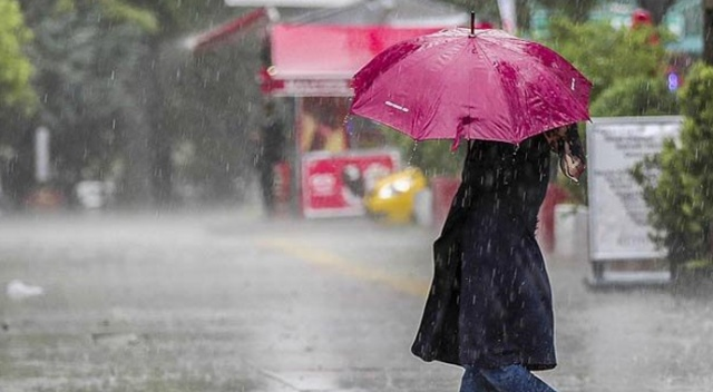 Batı Akdeniz'de kuvvetli yağış uyarısı