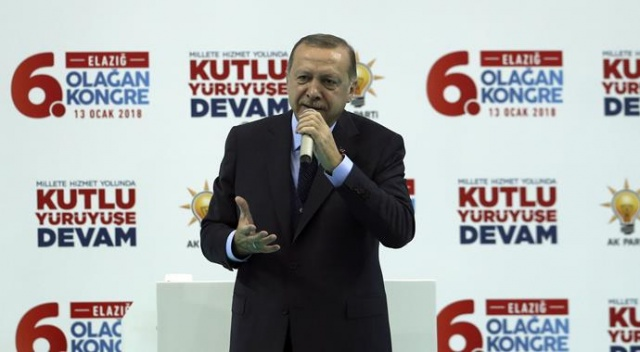 Cumhurbaşkanı Erdoğan Afrin'e operasyon sinyali: 'Bir haftaya kalmaz ne yapacağımızı görecekler'