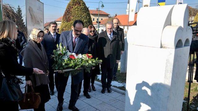 Cumhurbaşkanlığı Sözcüsü Kalın, Bosna Hersek'te