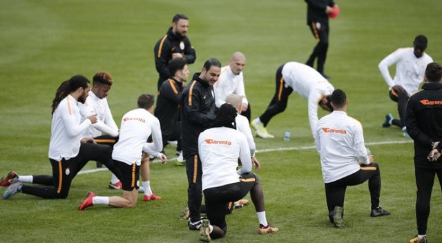 Galatasaray, çalışmalarına devam etti