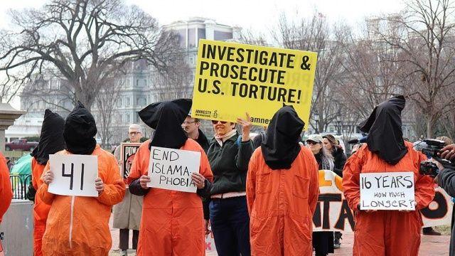 Guantanamo tutukluları Trump yönetimine dava açtı