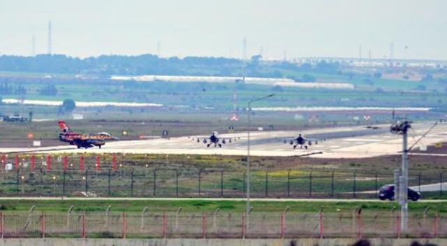 İncirlik'ten kaplan simgeli uçak havalandı