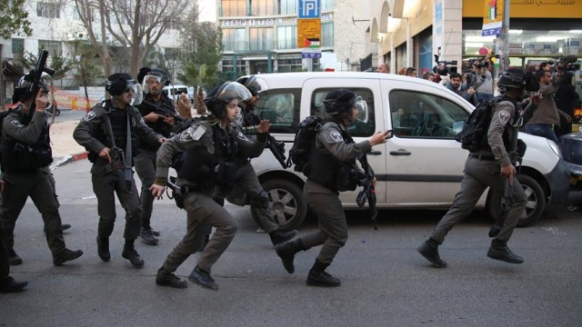 İsrail polisinden Kudüs'te göstericilere müdahale