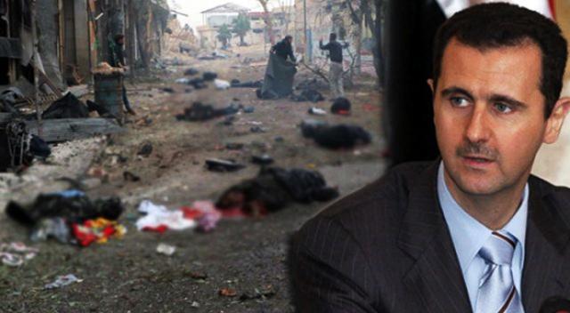 Katil Esad İdlib'de 400 bin insanı açlığa terk etti