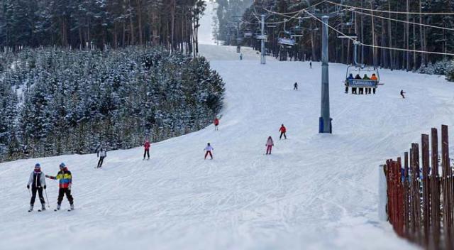 Kayak için yedi bölge, on tesis