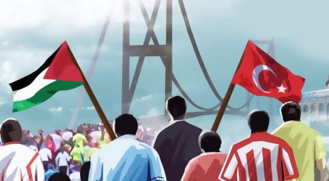 Kudüs Halk Koşusu, Çengelköy'den başlıyor…
