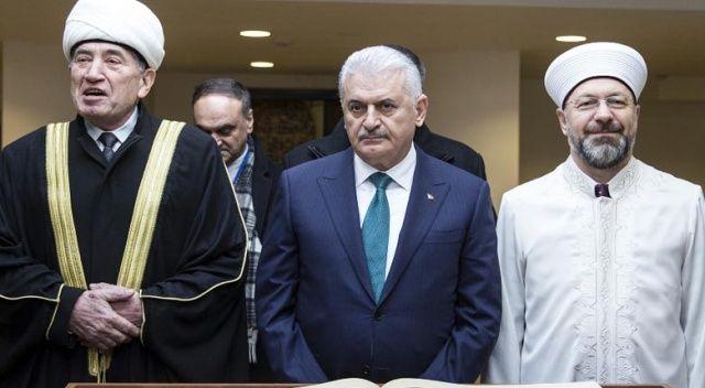 Başbakan Yıldırım, Minsk Camii'ni ziyaret etti