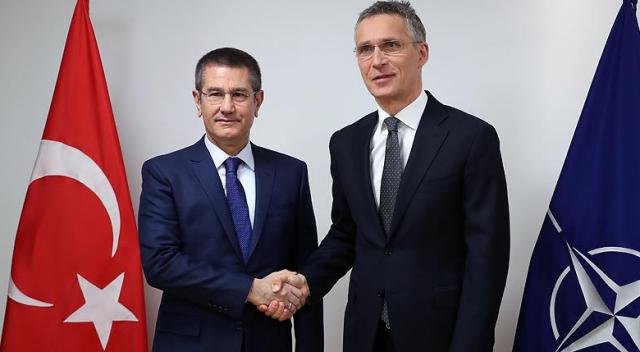 Canikli, NATO Genel Sekreteri Stoltenberg ile görüştü