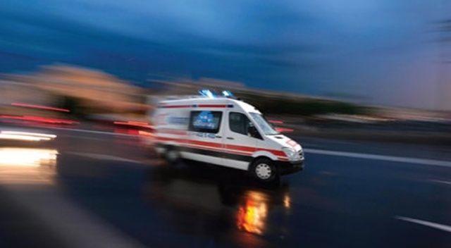 Denizli'de otomobil devrildi: 4 yaralı